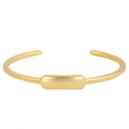 DQ metal findings bangle Gold (nickel free)