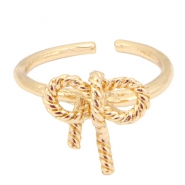 Musthave bow ring Gold