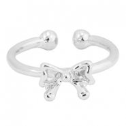 Musthave bow ring Silver