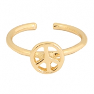 Musthave peace ring Gold