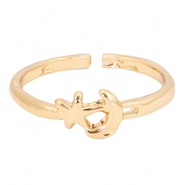 Musthave moon&star ring Gold