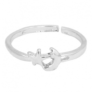 Musthave moon&star ring Silver