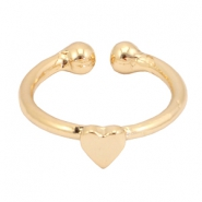 Must-have heart ring Gold