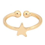 Musthave star ring Gold