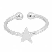 Musthave star ring Silver