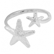 Musthave starfish ring Silver