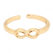 Musthave infinity ring Gold