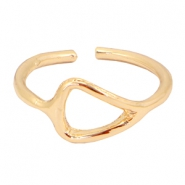 Musthave triangle ring Gold