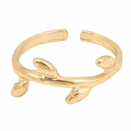 Musthave leaf ring Gold