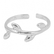 Musthave leaf ring Silver