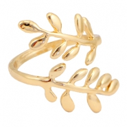 Musthave branch & leaves ring  Gold