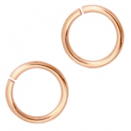 DQ metal jump ring 12mm Rose gold (nickel free)