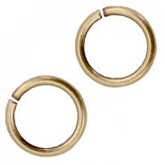DQ metal jump ring 10.5mm Antique bronze (nickel free)