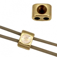 DQ metal sliders/settings for SS24 (for 3mm string/leather) Antique bronze (nickel free)