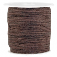 Fashion cord jute 2.0mm Dark brown
