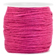 Fashion cord jute 2.0mm Fuchsia