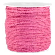 Fashion cord jute 2.0mm Rose