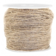 Fashion cord jute 1.0mm Beige