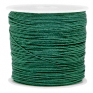 Macramé bead cord 0.8mm Dark classic green