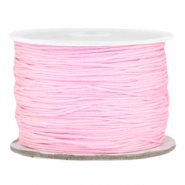 Macramé bead cord 0.5mm Light pink