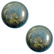Polaris Elements stardust classic cabochon 20 mm Blue shade