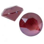Chaton 8 mm Swarovski SS 39 Crystal dark red