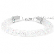 Crystal diamond bracelets 8mm Crystal aurore boreale