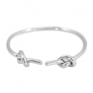 Knot musthave ring Silver