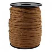 Round trendy 4 mm paracord brown