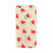 Telephonecase melon for Iphone 5 Transparent - red green