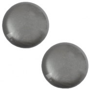 12mm classic Polaris Elements cabochon soft tone shiny Silver night