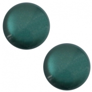 12mm classic Polaris Elements cabochon soft tone shiny Deep lake teal blue