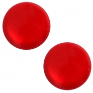 12mm classic Polaris Elements cabochon soft tone shiny Scarlet red