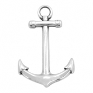 DQ metal charms anchor 30mm Antique silver (nickel free)