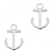 DQ metal charms anchor Antique silver (nickel free)