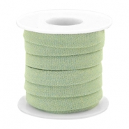 Trendy flat denim cord 10m Light green
