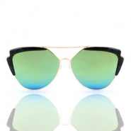 Trendy sunglasses Black-gold
