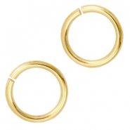 8mm DQ jumpring DQ Gold durable plated