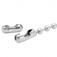 DQ ball chain clasp for 4.5mm chain DQ Antique silver durable plated