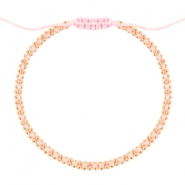 Minimalist bracelets Light rose-gold