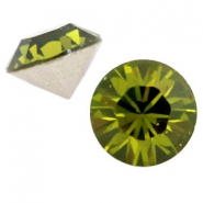 Swarovski Elements SS24 chaton (5.2mm) Olivine green
