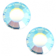 Swarovski Elements SS34 flat back stone (7mm) Aquamarine blue
