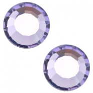 Swarovski Elements SS34 flat back stone (7mm) Tanzanite purple