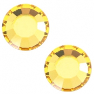 Swarovski Elements SS34 flat back stone (7mm) Light topaz yellow