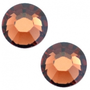 Swarovski Elements SS30 flat back stone (6.4mm) Smoked topaz