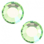 Swarovski Elements SS30 flat back stone (6.4mm) Peridot green