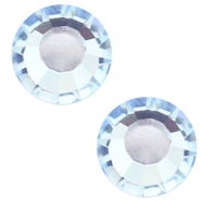 Swarovski Elements SS30 flat back stone (6.4mm) Light sapphire