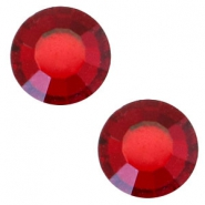 Swarovski Elements SS20 flat back stone (4.7mm) Siam red