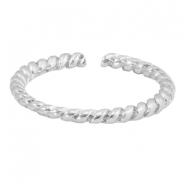 Musthave rings twist Silver