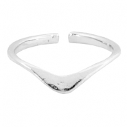 "Must-have rings ""v""shape Silver"